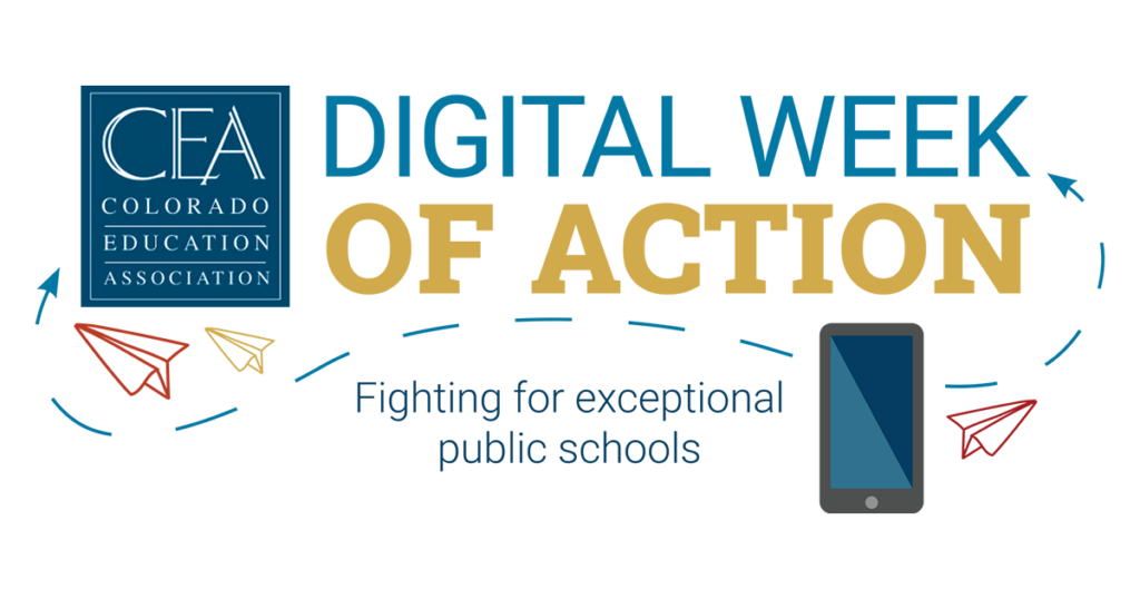 Digital Week of Action: Fighting for Exceptional Public Schools